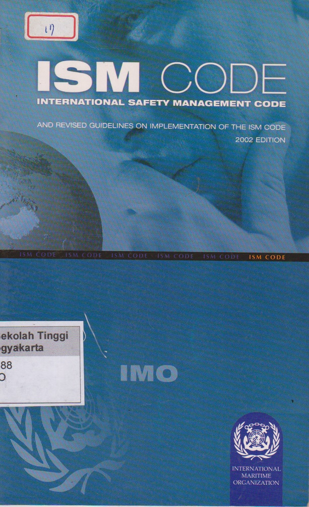 ISM Code international safety management code 2002 edition