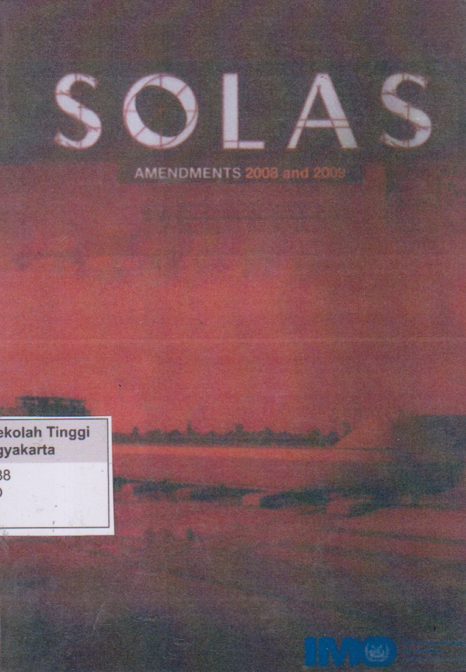 Solas Amendements 2008 and 2009